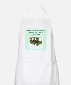 horse racing gifts t-shirts BBQ Apron