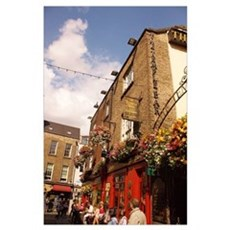 The Temple Bar Pub - Dublin Ireland Poster