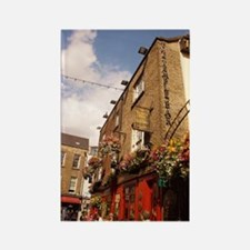 The Temple Bar Pub - Dublin Irela Rectangle Magnet
