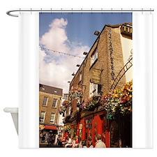 The Temple Bar Pub - Dublin Ireland Shower Curtain