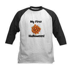 My First Halloween! (candy co Kids Baseball Jersey