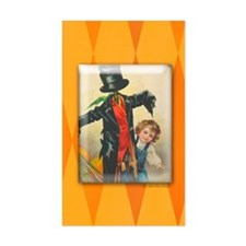 TLK004 Halloween Scarecrow Rectangle Decal