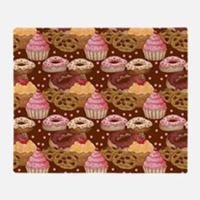 Patisserie - Cake Shop Throw Blanket
