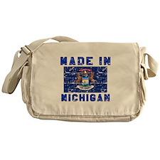Made In Michigan Messenger Bag