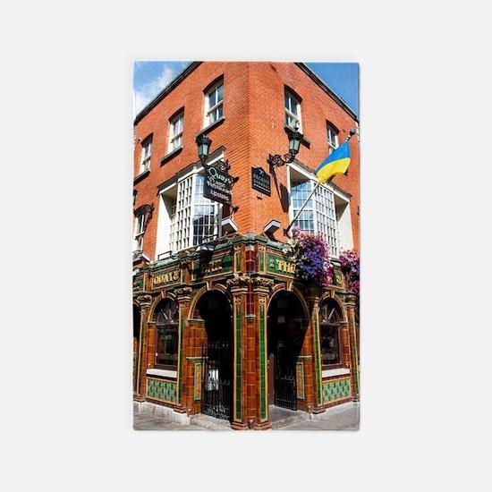 The Quays Bar - Dublin Ireland Area Rug