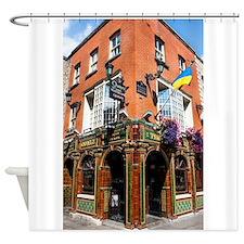 The Quays Bar - Dublin Ireland Shower Curtain