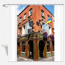 The Quays Bar - Dublin Ireland Shower Curtain