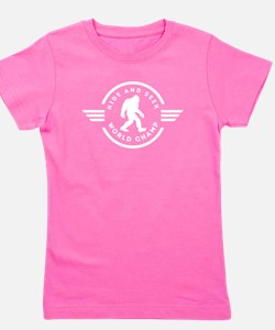 Hide And Seek Champ Bigfoot Girl's Tee