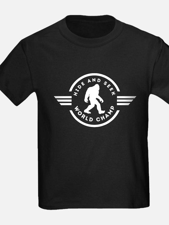 Hide And Seek Champ Bigfoot T-Shirt