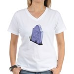 Look Out Women's V-Neck T-Shirt