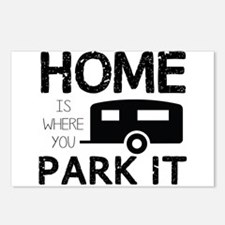 Home is Where You Park It Postcards (Package of 8)