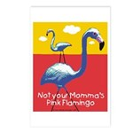 Not your Momma's Flamingo Postcards (Package of 8)