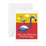 Not your Momma's Flamingo Greeting Cards (Pk of 10