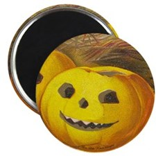 TLK005 Halloween Pumpkins Magnet