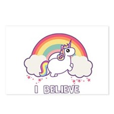 I Believe in Unicorns Postcards (Package of 8)