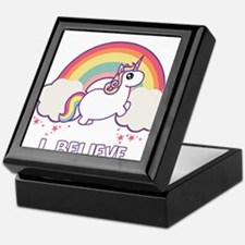 I Believe in Unicorns Keepsake Box