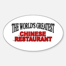 """""""The World's Greatest Chinese Restaurant"""" Decal"""
