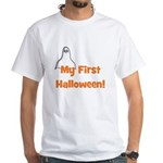 My First Halloween! (ghost) White T-Shirt