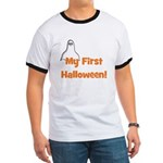 My First Halloween! (ghost) Ringer T
