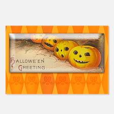 TLK005 Halloween Pumpkins Postcards (Package of 8)