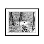 Winter Framed Panel Print