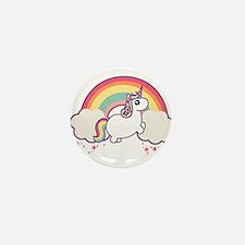 Chubby Unicorn Mini Button (10 pack)
