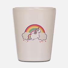 Chubby Unicorn Shot Glass
