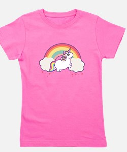 Chubby Unicorn Girl's Tee