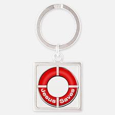 Jesus Saves Keychains