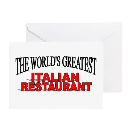 """The World's Greatest Italian Restaurant"" Greeting"