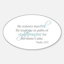 He Restores my Soul Decal