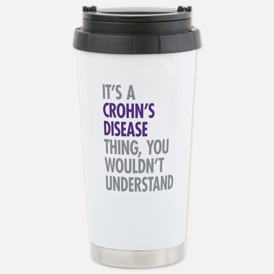 Crohns Disease Thing Stainless Steel Travel Mug