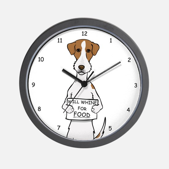Jack Russell Whine Wall Clock