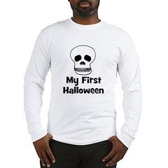 My First Halloween (skull) Long Sleeve T-Shirt