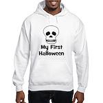 My First Halloween (skull) Hooded Sweatshirt