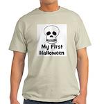 My First Halloween (skull) Light T-Shirt