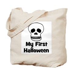 My First Halloween (skull) Tote Bag