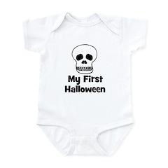 My First Halloween (skull) Infant Bodysuit