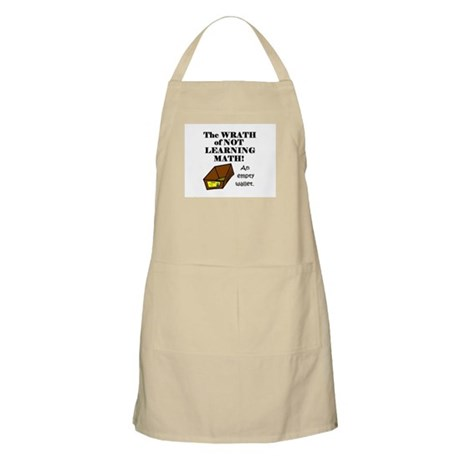 THE WRATH OF NOT LEARNING MAT BBQ Apron