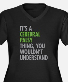 Cerebral Palsy Thing Plus Size T-Shirt