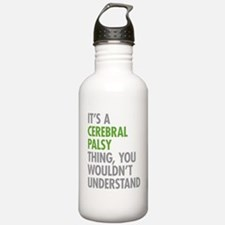 Cerebral Palsy Thing Water Bottle