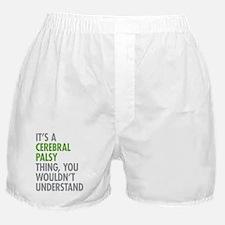 Cerebral Palsy Thing Boxer Shorts