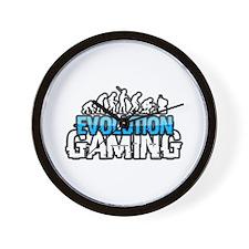 Evolution Gaming Logo Wall Clock