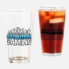 Evolution Gaming Logo Drinking Glass