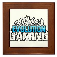 Evolution Gaming Logo Framed Tile