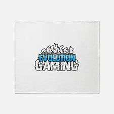 Evolution Gaming Logo Throw Blanket