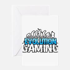 Evolution Gaming Logo Greeting Cards