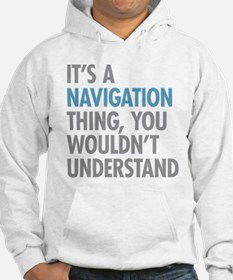 Navigation Thing Jumper Hoody