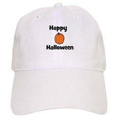 Happy Halloween! (pumpkin) Baseball Cap
