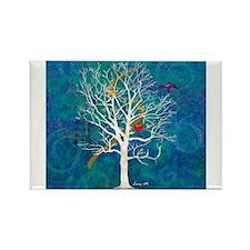 Unique Dream tree art Rectangle Magnet